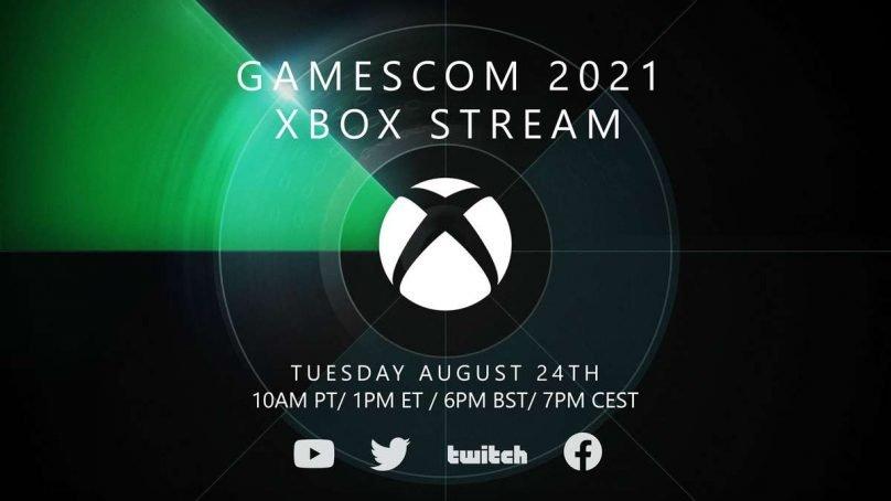 Gamescom 2021: l'evento Xbox durerà 90 minuti